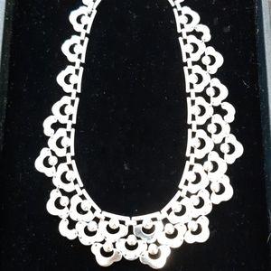 Stella & Dot silver chain necklace
